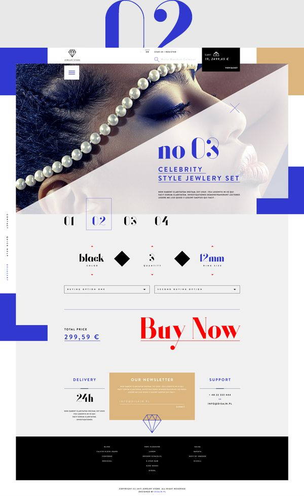 JewelryStore on Behance