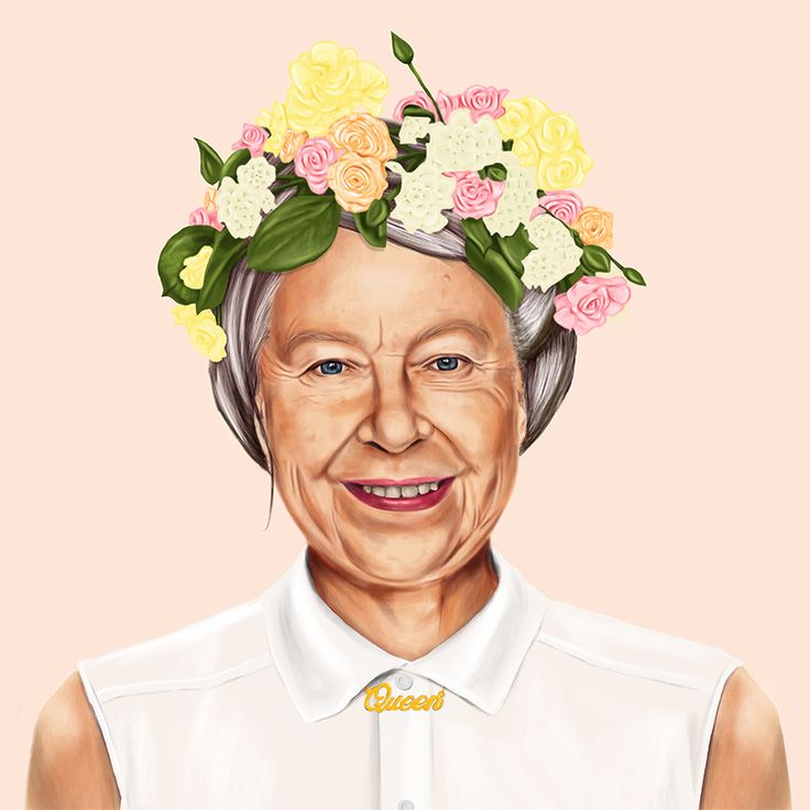 What Your Favorite Political Leaders Would Look Like As Hipsters // Queen Elizabeth