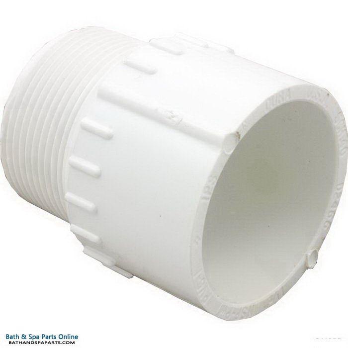 "Lasco SCH40 MIP PVC Adapter [1.5"" Slip x MPT] (436-015)"