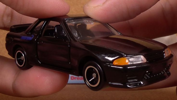 "Dream Tomica Initial D Skyline GT-R ""R32"" (Takara Tomy Japan Diecast Toy..."