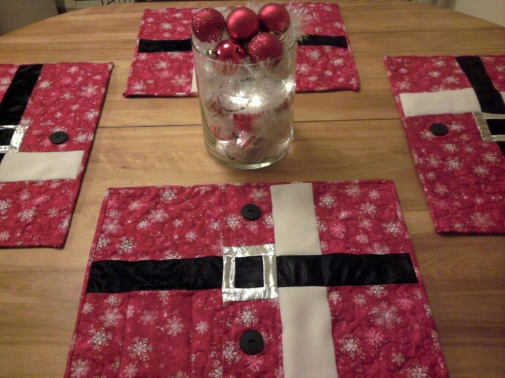 Pinterest Christmas Placemats