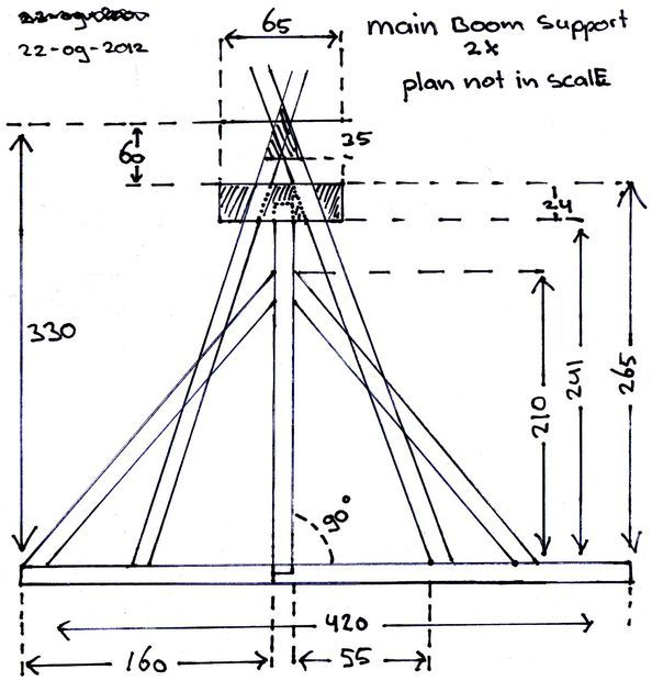 trebuchet  working  model step by step free plans and instructions
