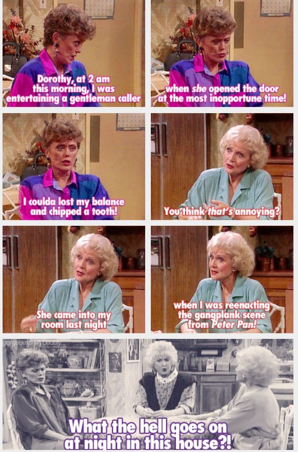 The #GoldenGirls <3