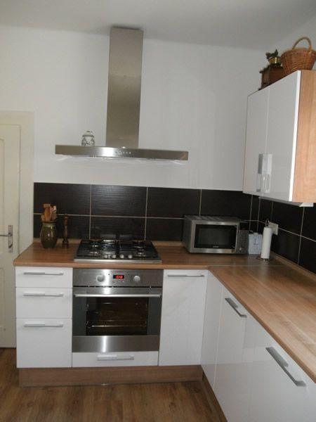 Kuchyňa biela lesklá - BMV Kuchyne
