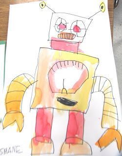 Art Julz: I HEART ROBOTS - The Robot Book and art Great lesson