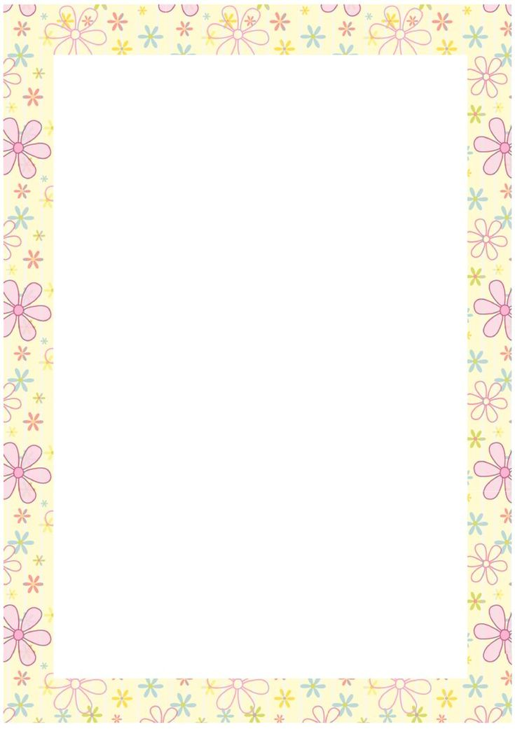 Free Border Templates | Creative Commons Attribution-Noncommercial-No Derivative Works 3.0 ...