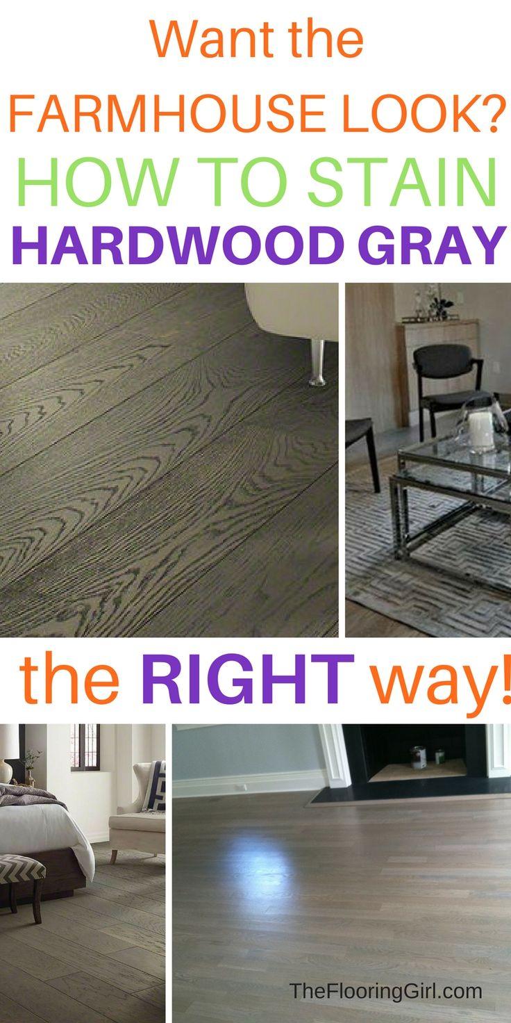 Best Way To Stain Hardwood Floors Part - 37: Staining Hardwood Floors Gray
