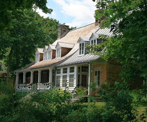 Westmount, Montreal.      Hurtibise house...we lived in the addition on the right, when I was a baby