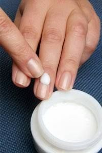 Moisturize your nails. Apply moisturizer on your nails on daily basis to prevent them from cracking and peeling. Massage the moisturizer on nails gently. This gentle massage stimulates blood circulation which makes nails grow faster and also make them strong and healthy. Make this habit to apply good hand moisturizer before going to bed every night. #HairNailsandMakeupbyKatGordon 405-314-0898 #Nails #Manicure #Pedicure #NailCare #LadiesandGentlemensHairStudioDelCity where Beauty is a phone…