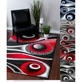 Top Product Reviews for Rug Addiction Hand-tufted Polyester Red and Black Shag Area Rug - Overstock.com - Mobile