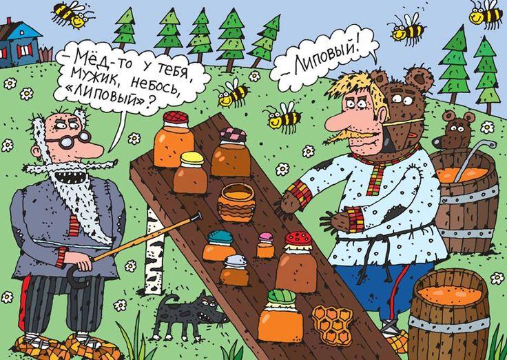 Мед смешные картинки