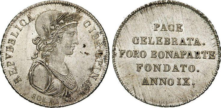 NumisBids: Numismatica Varesi s.a.s. Auction 65, Lot 441 : MILANO - REPUBBLICA CISALPINA (1800-1802) 30 Soldi A. IX...