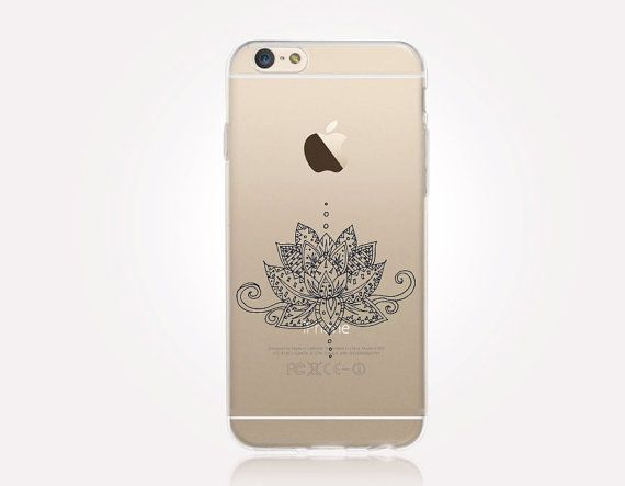 Transparentes Lotus Phone Case