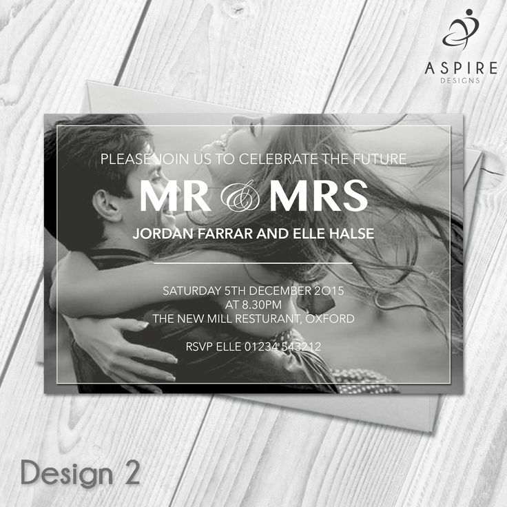 wording for party invitations uk%0A Personalised Engagement Announcement Party Invitations   Custom Made With  Your Own Photos and Text All orders