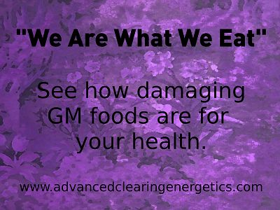 Have you ever heard this statement? Every mother needs to read my free ebook 'Why Shouldn't I eat Genetically Modified foods?'Get your copy today www.advancedclearingenergetics.com/gmo