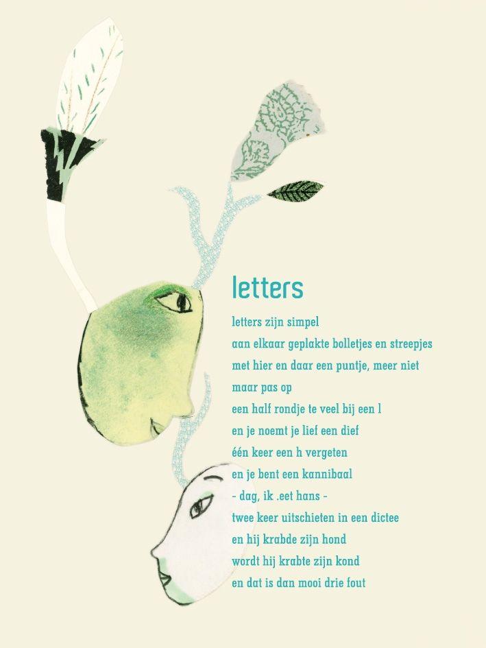 Poëzie over spelling