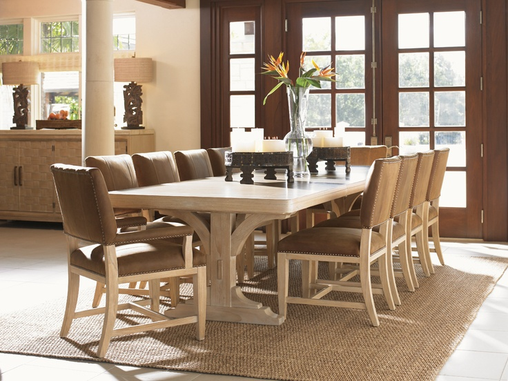 Road To Canberra New South Wales Dining Table Seats 10, Lexington Home  Brands