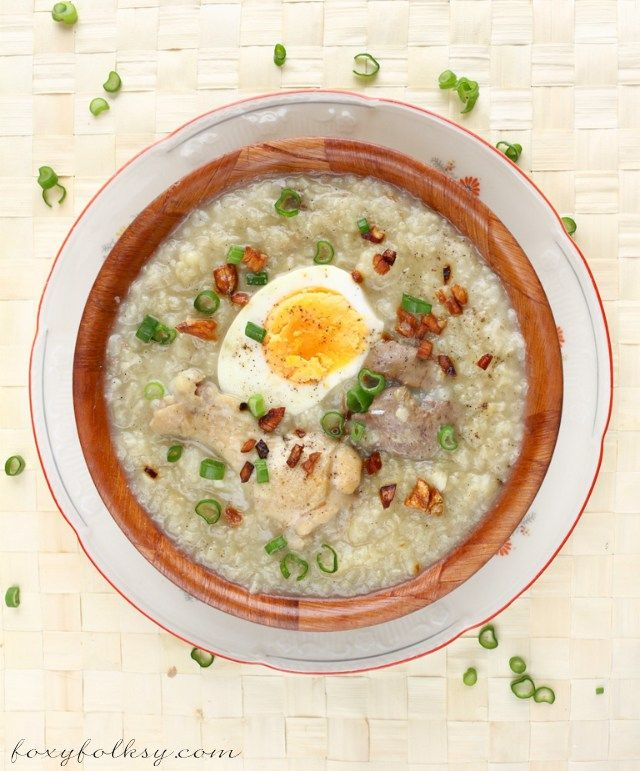 how to cook arroz caldo without chicken