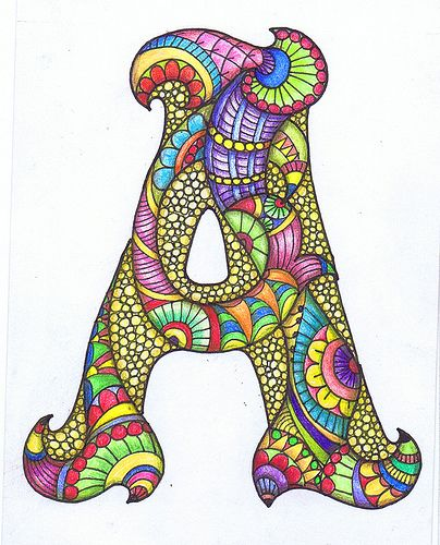 """""""Starting to think about an alphabet"""" (Sheila Arthurs). And so she did: for B, C, D, etc. go to Flickr!! > Gorgeous!"""