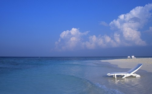 Paradise Maldives Beach