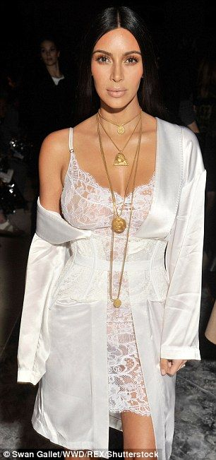 Rumour has it: The shoot has emerged amid claims Kim enjoyed a fling with Calum Best when ...