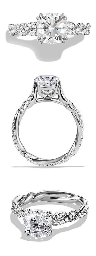 Wisteria Engagement Ring ღ