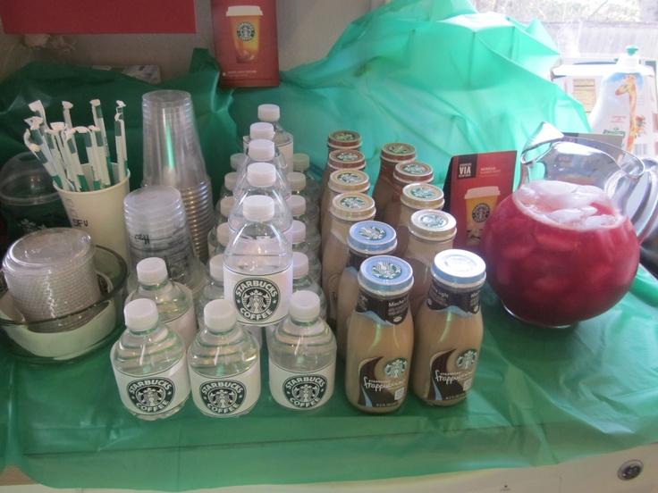 Starbucks Bridal Shower