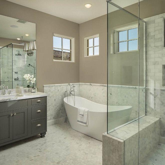 Pony Wall Bathroom Ideas In 2020 Cheap Bathroom Remodel Diy Bathroom Makeover Bathtub Remodel