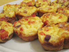 Mini Crustless Quiches - a Slimming World recipe | Every Word Handwritten: Mini Crustless Quiches - a Slimming World recipe
