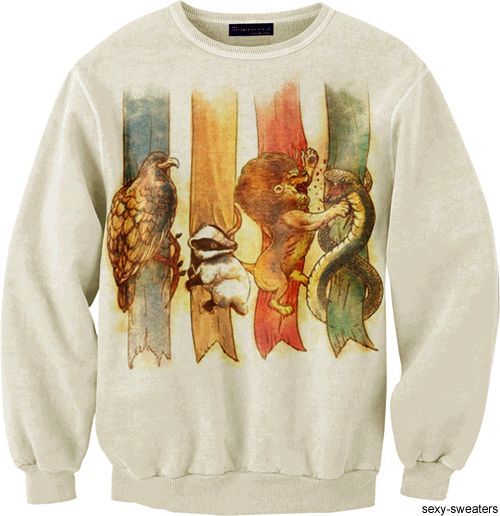 Harry Potter / Hogwarts Houses Sweatshirt
