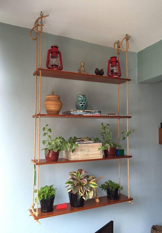 DIY: Prateleira suspensa - WePick