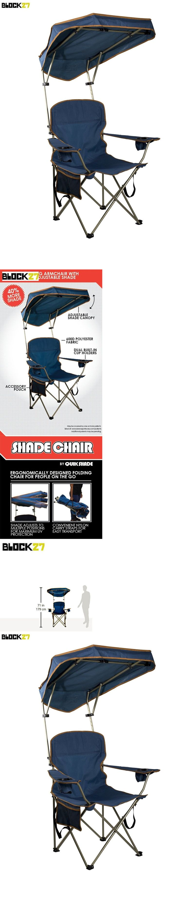 C&ing Furniture 16038 Folding Portable Chair With Sun Shade Canopy For Patio Outdoor Beach C&ing  sc 1 st  Pinterest & 34 best Kelsyus Chairs images on Pinterest | Camping chairs Kids ...