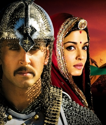 Hrithik & Aishwarya in Jodhaa Akbar, my intro into Bollywood