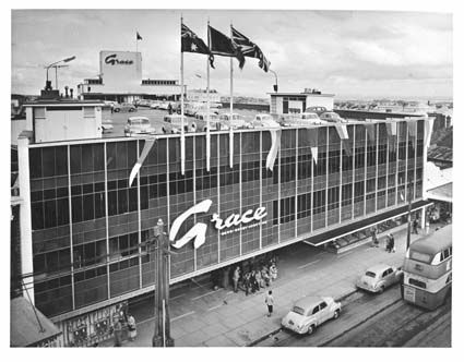 This is Grace Bros Bondi Junction in the fifties. It replaced the Coronet Theatre. (pre Westfield revolution).