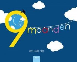 9 maanden Jean-Mars Fiess Clavis zwangerschap emoties beelden pop-up cadeau dromen kind naam bedenken bevalling gebeurtenissen foto's recensie review