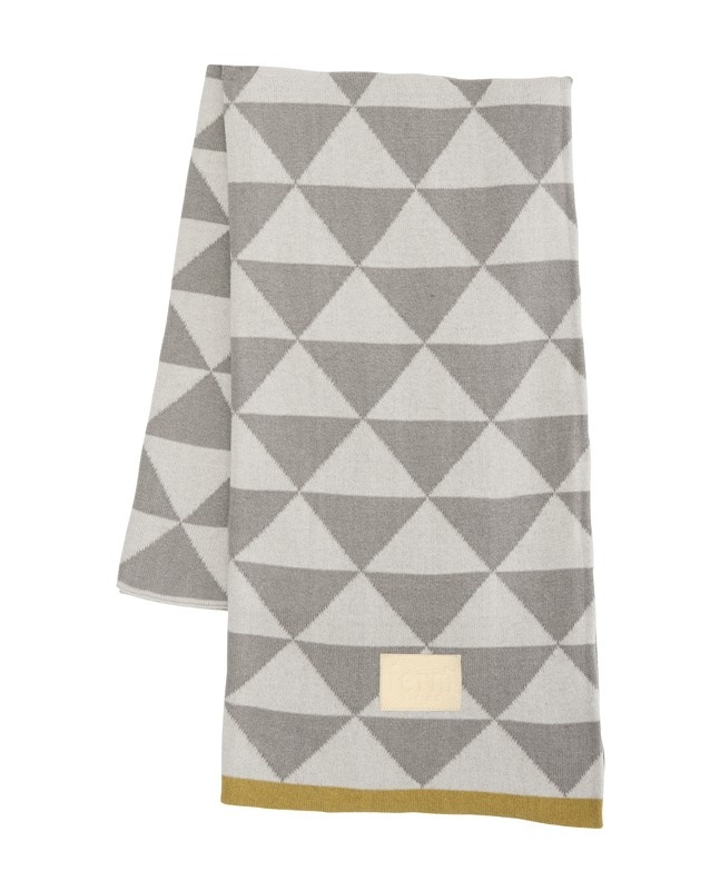 Remix Blanket - Grey: Fermliving, Ferm Living, Organic Cotton, Remix Blankets, Living Room, Living Remix, Grey, Knits Blankets, Products