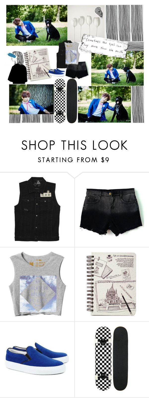 """""""V BTS Now 3"""" by emma-mae98 ❤ liked on Polyvore featuring KEEP ME, RVCA and Amb Ambassadors of minimalism"""