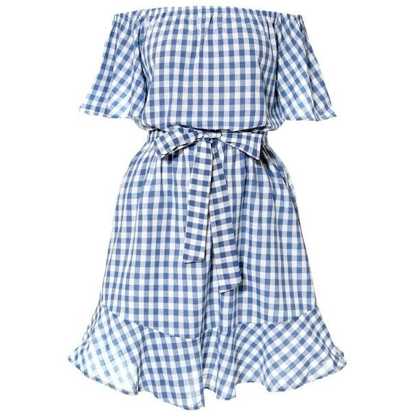 Now $37 - Shop this and similar day dresses - Pretty baby. A sweet midi dress that invites daydreams and play dates. Timeless gingham print cotton dress, with o...