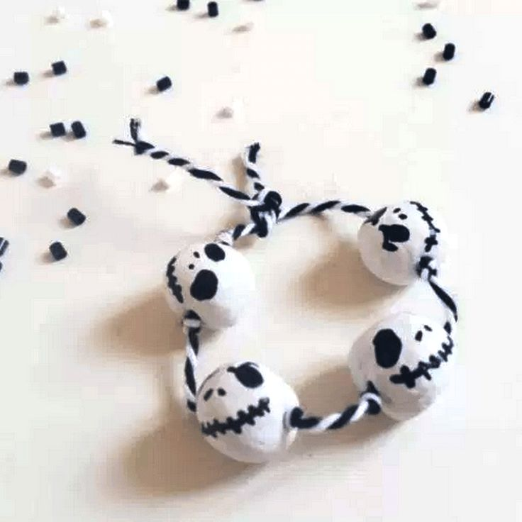 Bracelet d'Halloween ~ Tiny Little Craft | Mooka, le quotidien du DIY