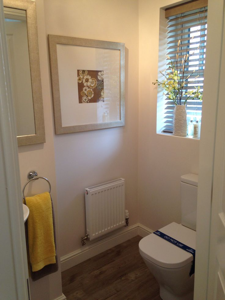 Morris Show Home Downstairs Toilet Bollington 2 Special
