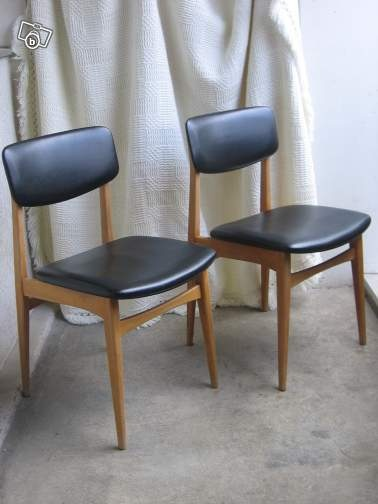 Chaises scandinaves ameublement marne d co maison pinterest - Retapisser une chaise ...