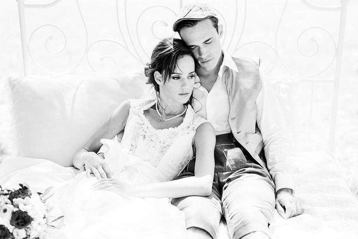 """Couture Brautdirndl und Herren Trachtengilet by www.tianvantastique.com #tianvantastique #gown #brautdirndl #hochzeitskleid #photooftheday…"""""""
