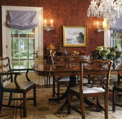 Georgian Style Dining Room