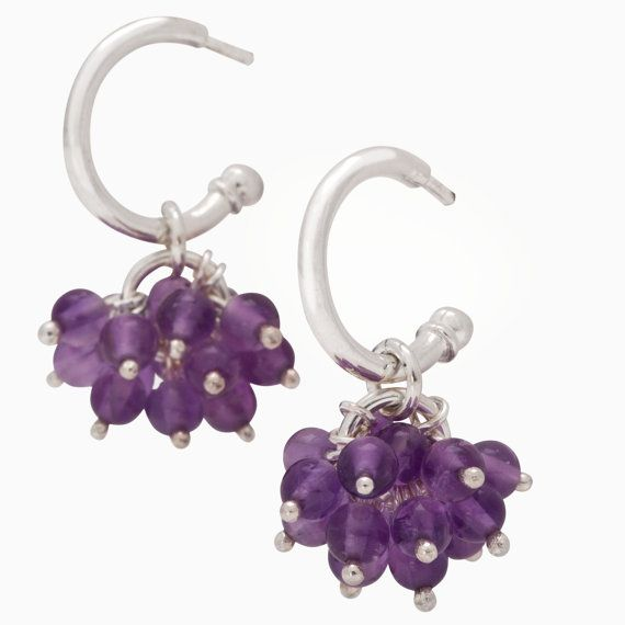 Thistle Earrings by SaarikorpiDesign on Etsy, €110.00