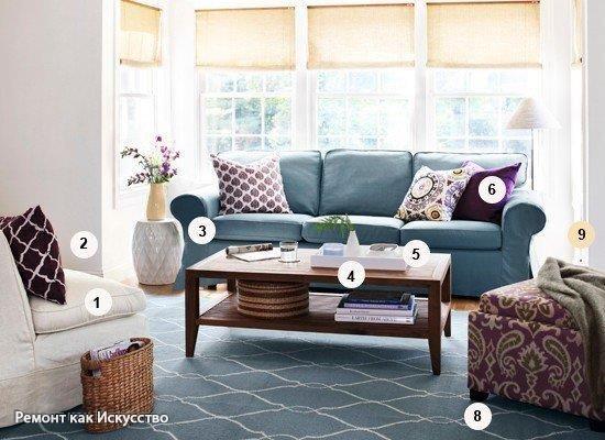 Как сделать дом уютнее без особых затрат?  1. Меньше мебели. Даже большая гостиная будет выглядеть, как лавка старьевщика, если она заставлена мебелью. Избавляйтесь от лишнего. Оставьте лишь базовый набор: диван, полки для книг, удобное кресло, мягкий пуфик и кофейный столик. Организуйте пространство так, чтобы вам было удобно ходить. 2. Разбираем завалы. Не жалейте старых журналов. Оставьте два последних номера, а если вам нравится какая-то статья, вырвите ее и сохраните в папке. 3. Очищаем…