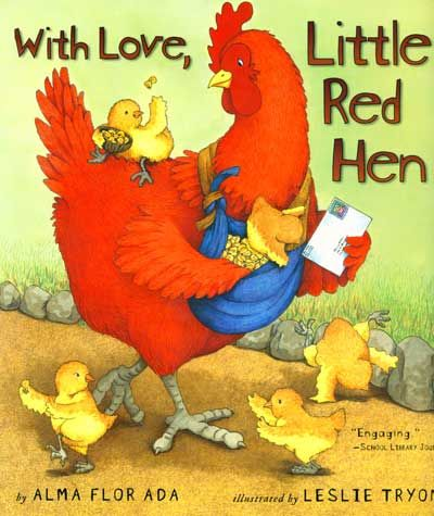 postcard or post office /writingClassic Book, Reading, Alma Flor, Flor Ada, Little Red Hens, Letters Writing, Kindergarten Blog, Children Book, Red Hens Amazon Book