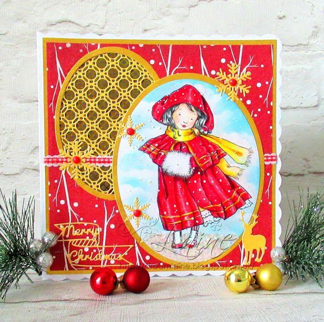 Dream Laine: Victorian Christmas! ! #pencils #momanning #festive #christmas #shabbchic #vintage