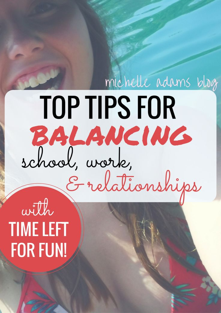 Top Tips for Stress Management Anxiety Management Balancing School Work Relationships Balance College - Michelle Adams Blog