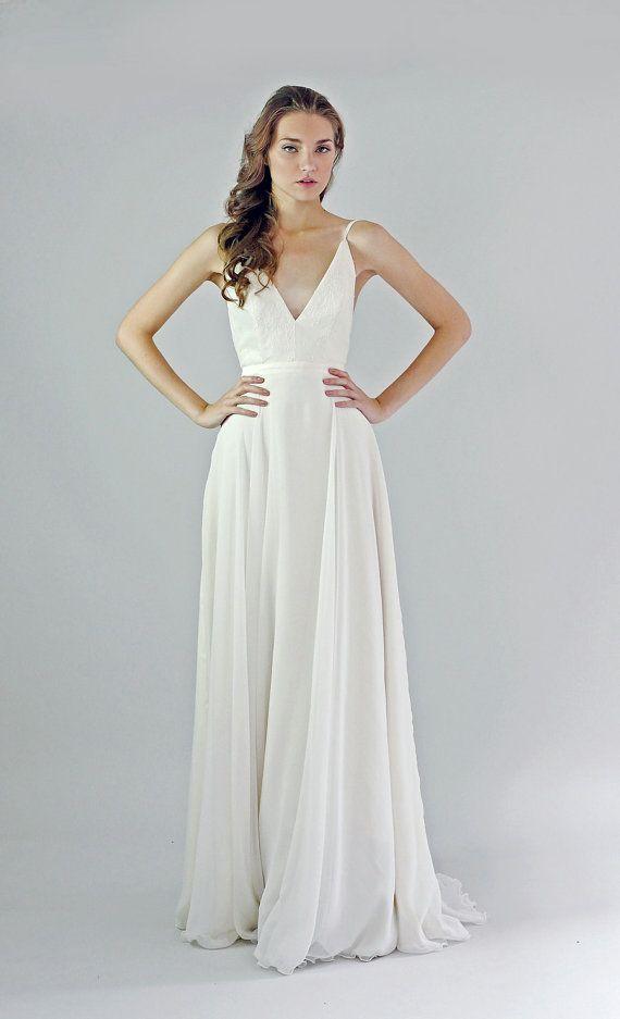 Silk Chiffon Wedding Dresses