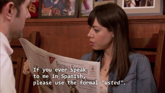 "On setting proper boundaries with your roommate: | 28 Times April Ludgate Made You Say ""Me As An Adult"""